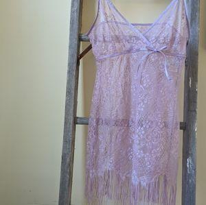 Babydoll chemise slip lingerie nightgown